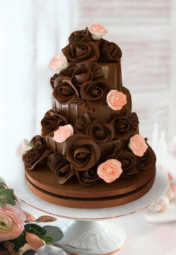 chocolate wedding cake idea 18896 best cakes images on cake wedding 12766
