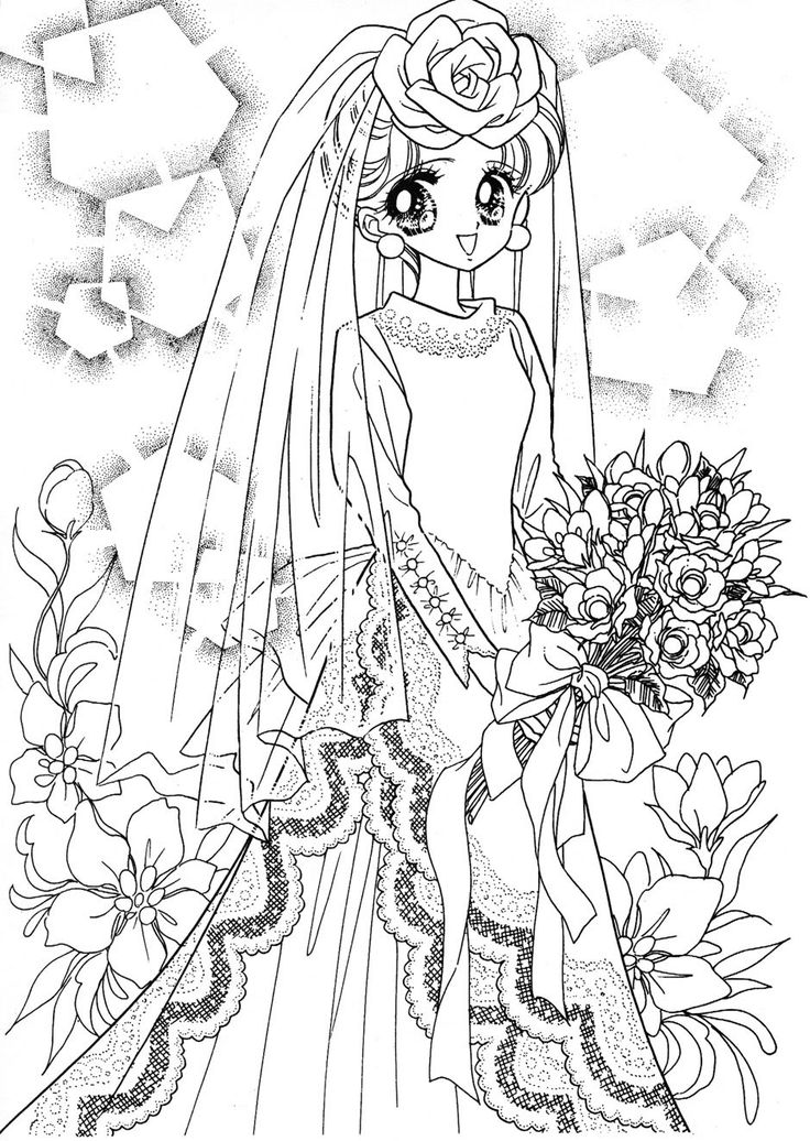 998 best coloring pages shojo anime images on - Adult manga 2 ...