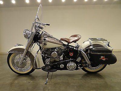 Harley-Davidson : Other 1958 harley davidson flh duo glide