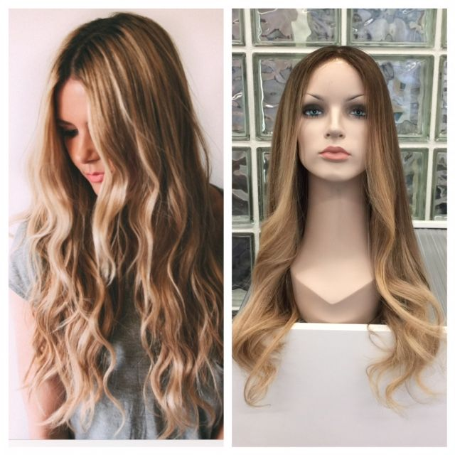This is a full lace front wig that the Pacific team has just coloured. If you see it online or in a magazine, we can make it a reality! info@pacifichair.ca