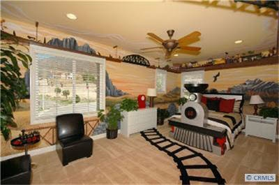 Amazing Train Themed Room Dream Home Child 39 S Play Pinterest To Be Train Room And The O 39 Jays