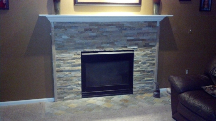ledgestone fireplace refacing fireplace pinterest fireplaces
