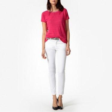 Pantalon Droit, Femme