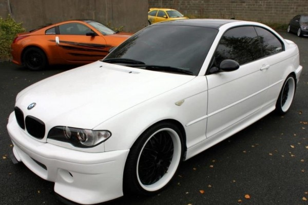 BMW White Dragon