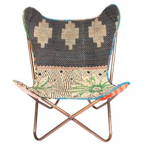 Kantha Butterfly Chair. The hippie in me wants this..