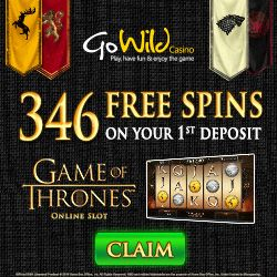 Gowild Casino - 365 FREE Spins