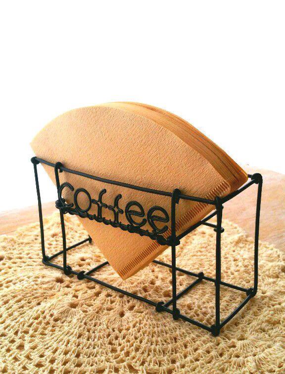 円錐形コーヒーフィルターホルダー 100枚収納