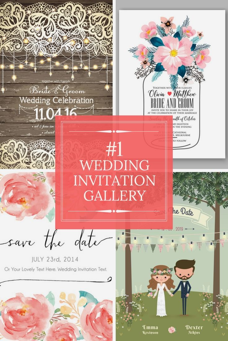 Top Wedding Invitation Inspirations - Check-Out Our Wedding ...