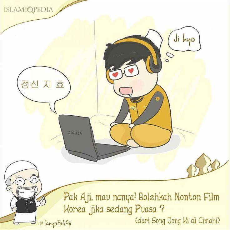 Bolehkah nonton film korea ketika sedang berpuasa ? #TanyaPakAji. . . Tentu boleh dan tidak dilarang untuk nonton film korea ketika sedang berpuasa. Yang tidak boleh dan dapat membatalkan puasa ketika nonton film korea sambil makan kacang haha (duh ngelawak yah Pak aji -_-). . Yah memang perlu diketahui bahwa tidak ada larangan untuk menonton film korea ataupun film-film lainnya selama bulan suci Ramadhan asalkan film yang dinonton tidak memiliki mudharat seperti mempertontonkan hal-hal yang…