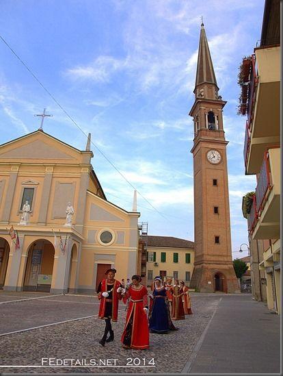 Campanile di Copparo oggi, provincia di Ferrara, 2014 - Property and Copyrights of (c) FEdetails.net 2014