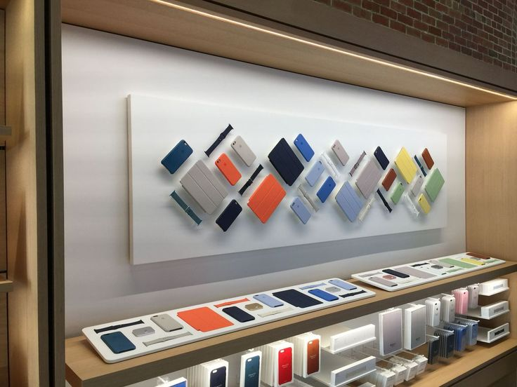 Get a behind-closed-doors look at the soon-to-open first Apple Store in…