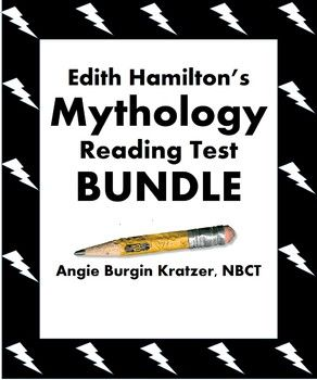 $9  Edith Hamilton's Mythology Reading Test BUNDLE This file contains four tests, each of which is priced at $3 if purchased separately. Save $3 with the bundle.