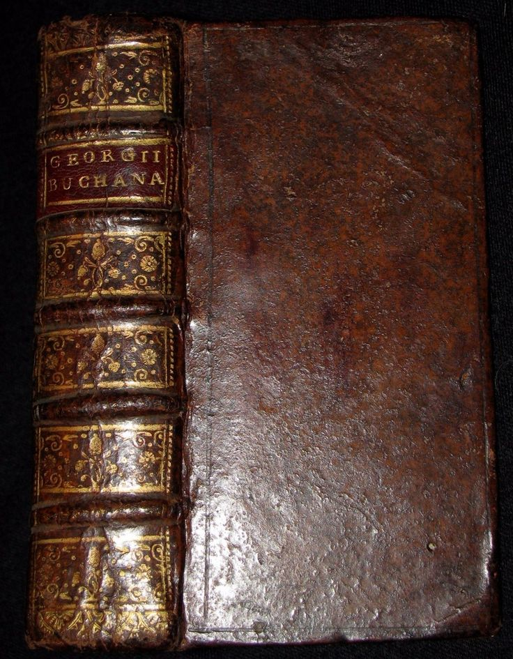 1687 Rare Book - GEORGII BUCHANANI SCOTI POEMATA Scottish Poems by Buchanan | eBay