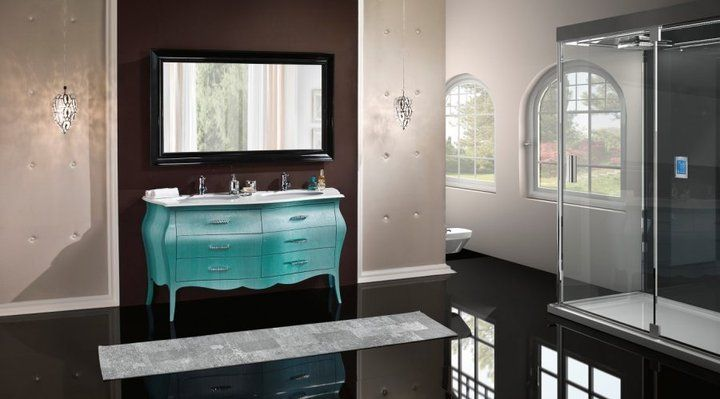 Barokk fürdőszobabútor - www.montegrappamoblili.hu