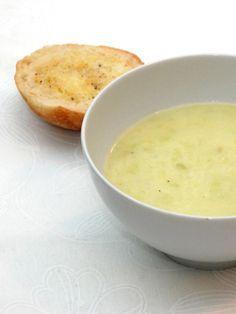 Kartoffel porre suppe opskrift fra Bageglad.dk
