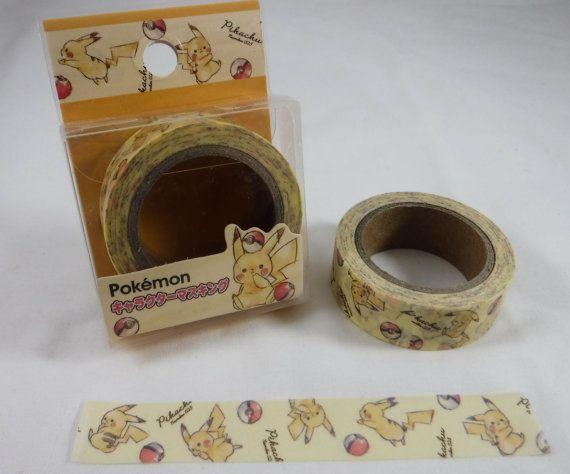 Kawaii Japan Deco Washi Masking Tape: 1.5cm x 10m  Kamio by mautio