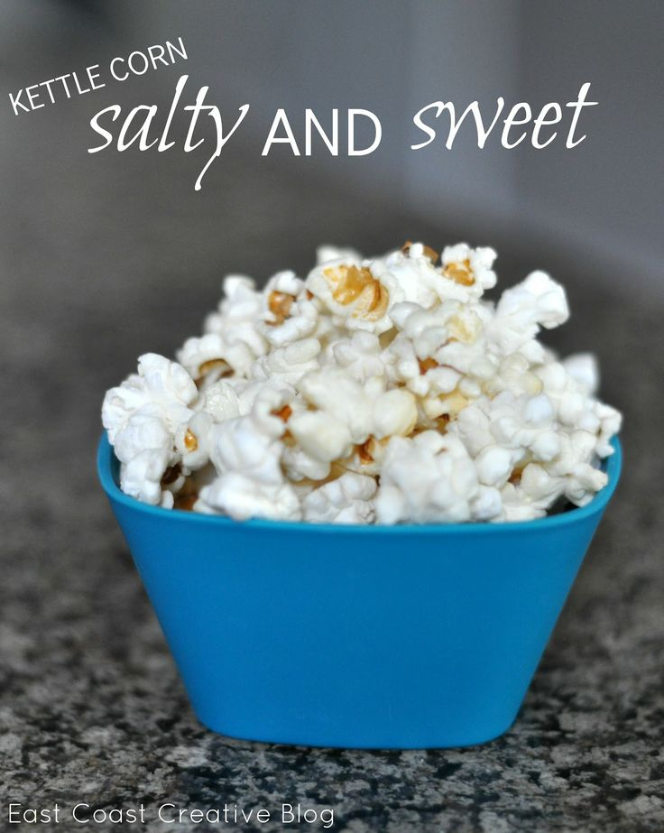 Kettle Corn - The blog says to use a Whirly Pop popcorn pot but I've made this same recipe several times using a regular pot with glass lid and it is no problem. Just pinning because I don't want to forget the recipe.