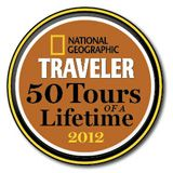 ROW honored on National Geographic Traveler list of 50 Tours of a Lifetime 2012