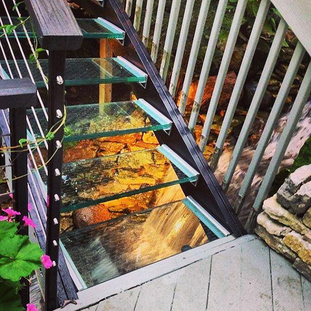 Structural Glass Floor Bridge Walkway Staircase Glass
