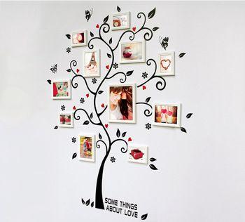 Фото украшения генеалогическое древо на стены наклейка плакат на стене стикеры-tree обои дети фоторамка искусства
