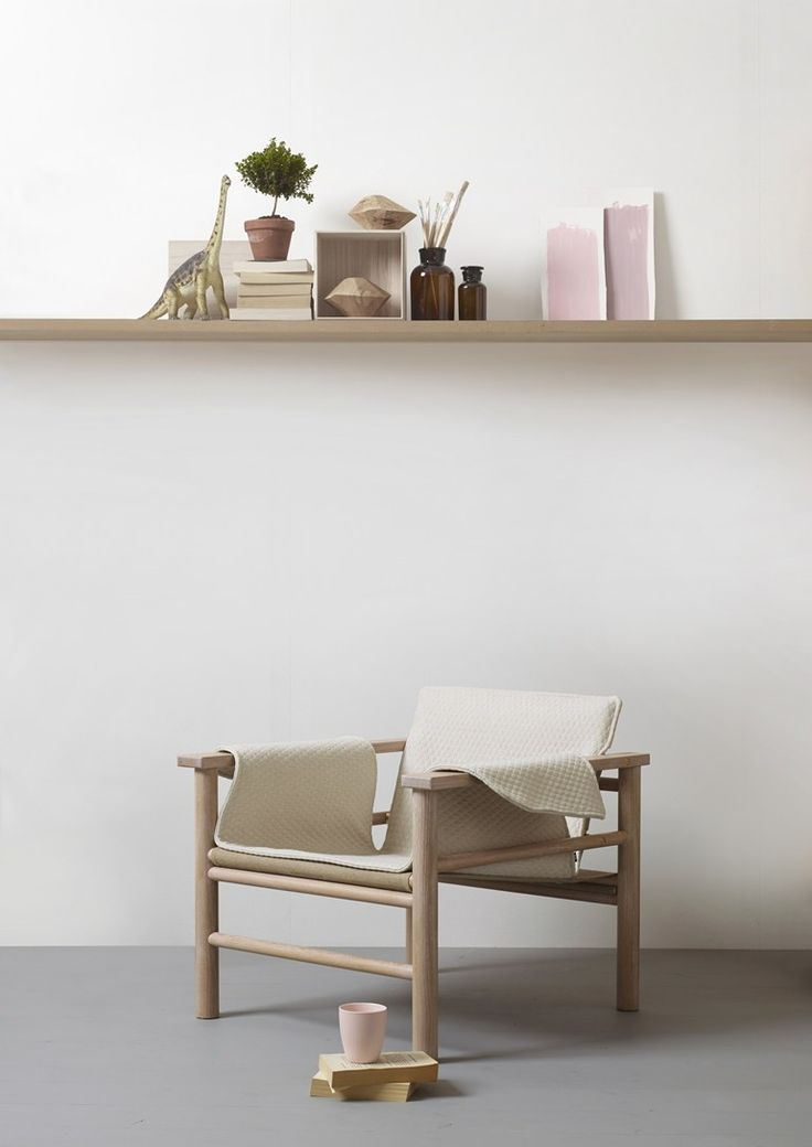 Wooden easy #chair HANNA by Ire Möbel | #design Emma Olbers