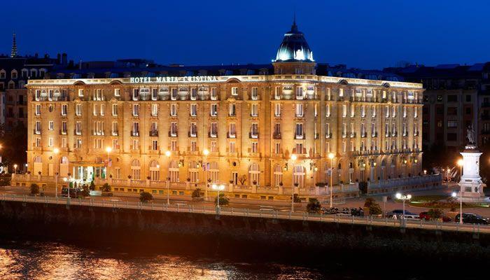 Hotel con encanto en San Sebastián. Hotel María Cristina.
