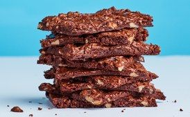 Sheet-Pan Brownie Thins