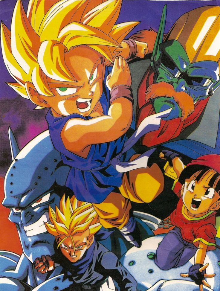 Goku, Trunks, and Pan vs Evil
