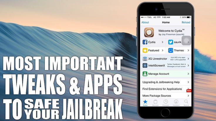 Most Important Tweaks and Apps To Safe Your Jailbreak [iOS 9.3.3 JB]