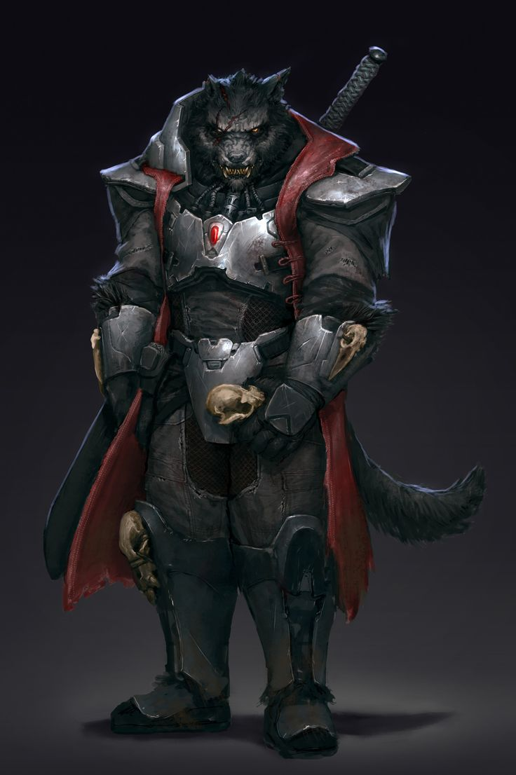 https://www.artstation.com/artwork/ZJZmX lycanthrope weretiger paladin fighter knight armor clothes clothing fashion player character npc | Create your own roleplaying game material w/ RPG Bard: www.rpgbard.com | Writing inspiration for Dungeons and Dragons DND D&D Pathfinder PFRPG Warhammer 40k Star Wars Shadowrun Call of Cthulhu Lord of the Rings LoTR + d20 fantasy science fiction scifi horror design | Not Trusty Sword art: click artwork for source