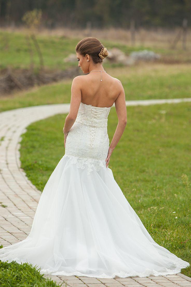 Rochie de mireasa Dalya - Calin Events - Rochii de Mireasa si Seara , Accesorii nunta #rochii #mireasa #sirean #trena #dantela