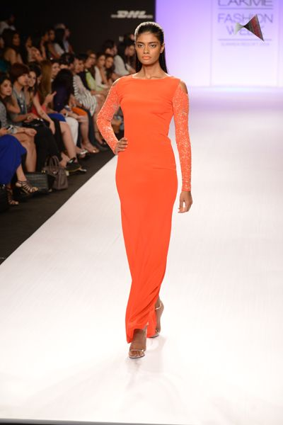Anushka Khanna's collection features beautiful surface texturing on contemporary silhouettes.