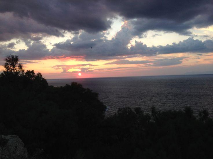 cloudy sunset#foça