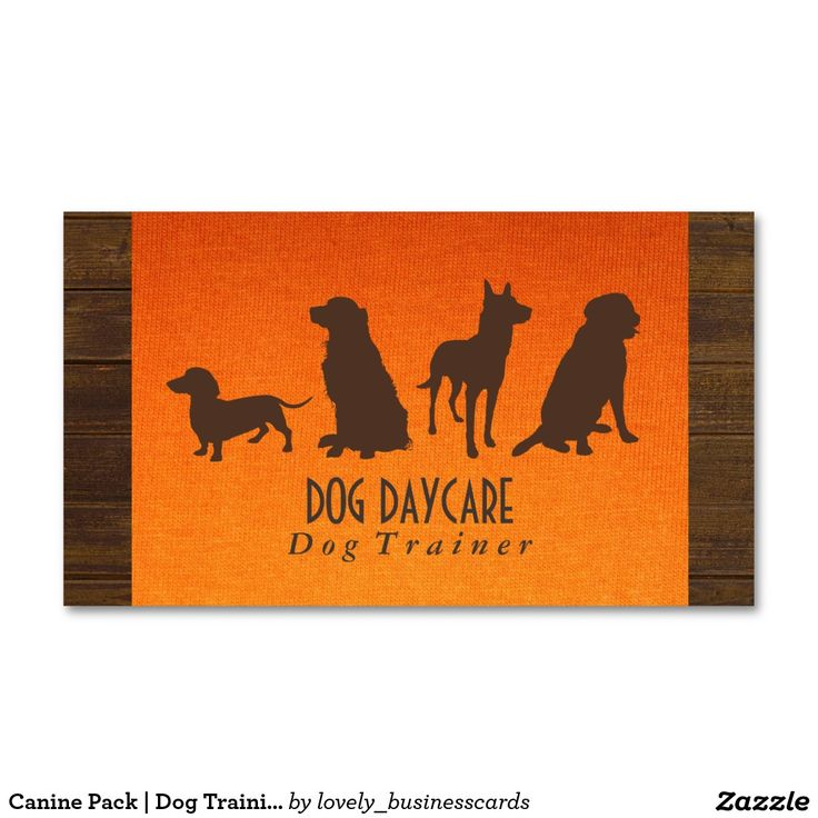 21 best dog training business cards images on Pinterest | Business ...