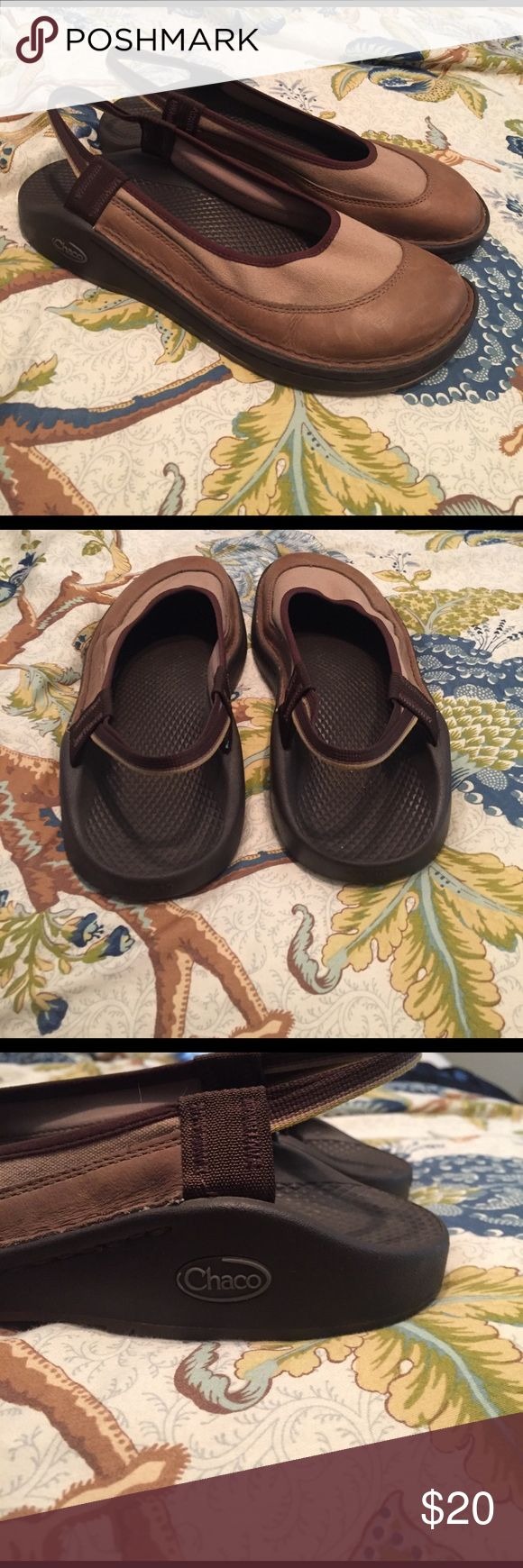 Chaco slingback closed toe shoes Awesome and rare Chaco shoes! Size 10! Super cute! Chaco Shoes