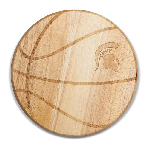 Michigan State University Basketball Wine & Cheese Cutting Board