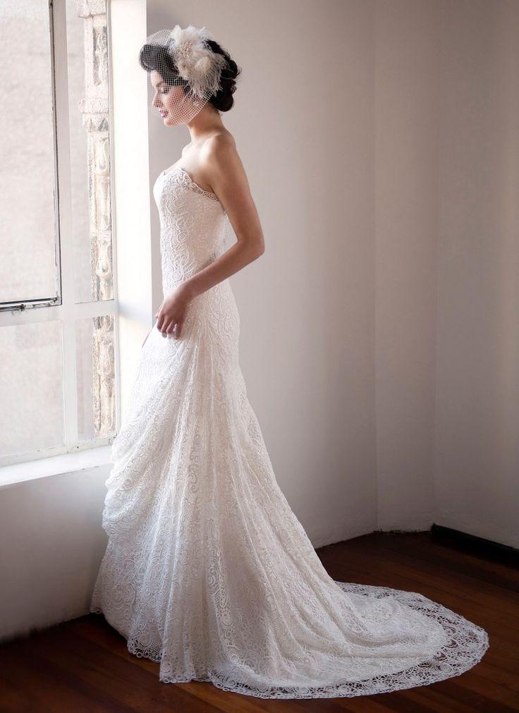 Crochet Wedding Dress by Anna Schimmel | New Zealand