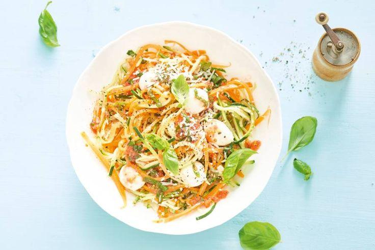 Spaghetti waar geen spaghetti aan te pas komt. Maar wél lekker veel groente! - Recept - Allerhande