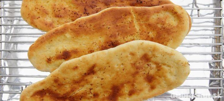 Indický chlieb naan