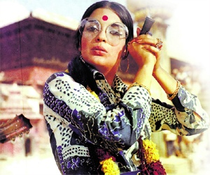 Obsessed with Bollywood cinema circa 1965 - Zeenat Aman from Dum Maro Dum courtesy of screenindia.com