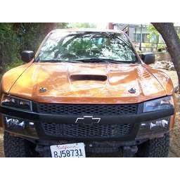 Sexy Fiberglass Hood for a 2004-2012 Chevy Colorado