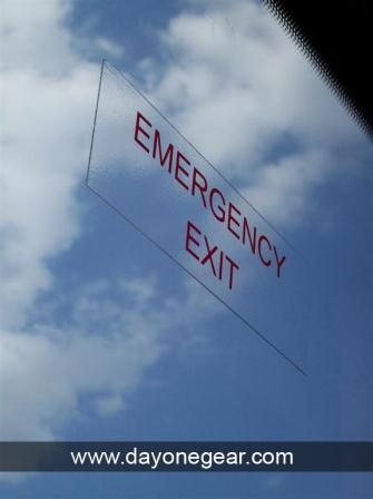 emergency exit. sign