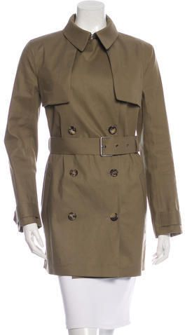 Céline Double-Breasted Trench Coat