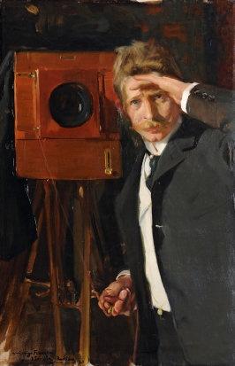 Joachin Sorolla, 'The Photographer' 1903 100 x 66cm