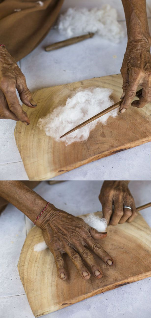 handspun cotton