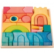 This puzzle makes me happy | Nest European Toys + HomeRainbows Castles, Chase Rainbows, Nests European, Castles Sets, Block Sets, European Toys, Ostheimer Rainbows, Castles Block, Kinderkram Rainbows