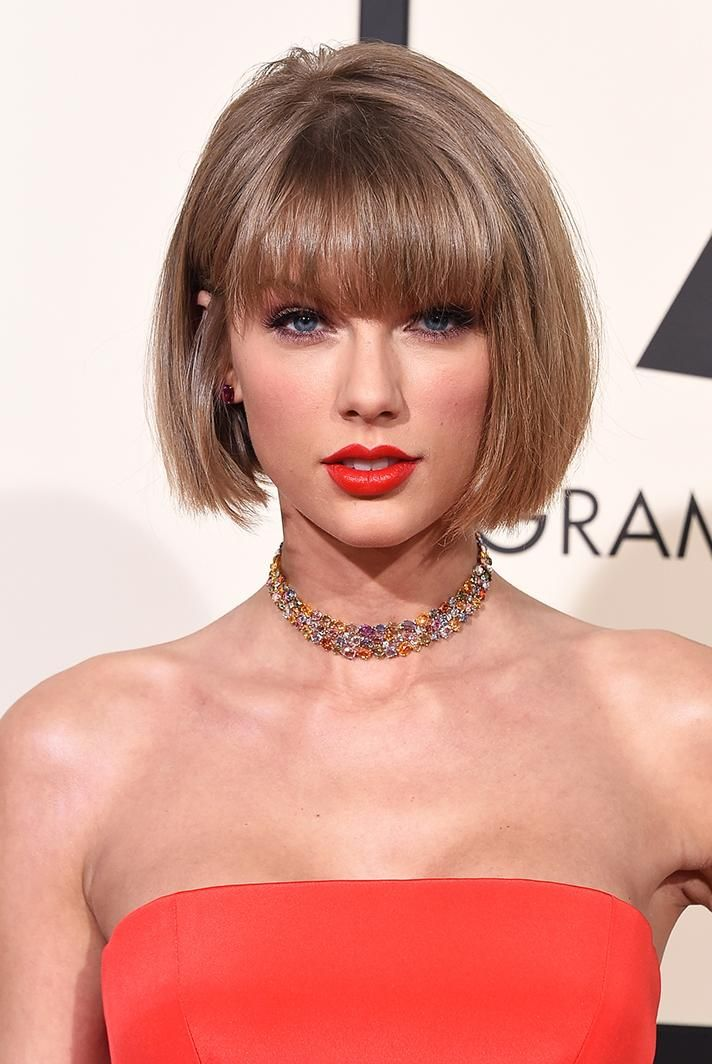 Best Grammy's Hair & Makeup 2016: Taylor Swift and Anna Wintour: officially #hairtwins.