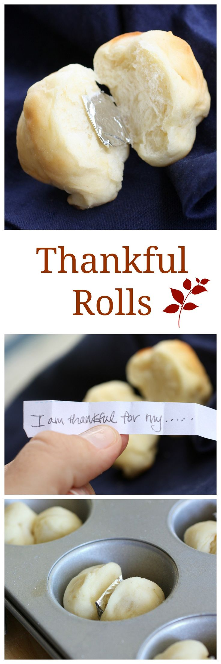 Thankful Rolls - a fun way to liven up the conversation at the Thanksgiving table. the-girl-who-ate-everything.com