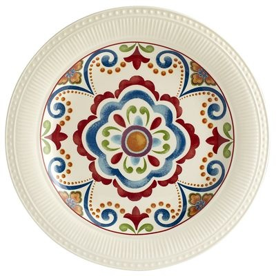 Global Medallion Dinner Plate