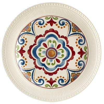 Global Medallion Dinner Plate